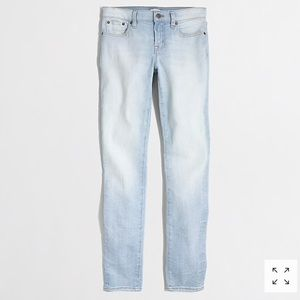 J. Crew Light Pacific Wash Skinny Jean LIKE NEW 24